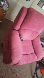 Rise and reclining chair in good working order