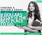 Cheap Essay Writing Services – Starting From As Low As $6 Only