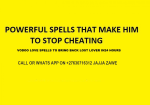 Love spells can help you to fix the love and restore it to the way it was.