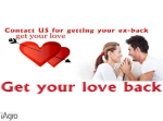 Bring Back Lovers Or EX Lovers In 24 Hours Online
