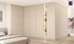 Fitted UK Corner Wardrobes for Sale | Corner Fitted Wardrobe | Inspired Elements | London
